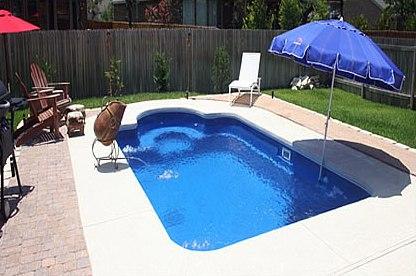backyard fun pools inground fiberglass pools of lexington kentucky