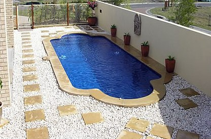Leisure Pools Of Tucson Quality Fiberglass Inground Pool Installation