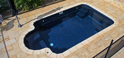 Dash Pools Courtyard Roman Model Swimming Pools By Leisure Pools